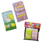 "Assorted Easter 3 3/4"" Notebooks - 12 Pack"