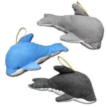 "Plush 5"" Dolphins"