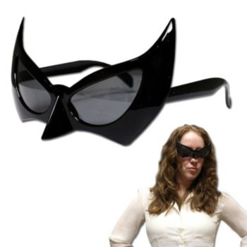 Black Bat Glasses