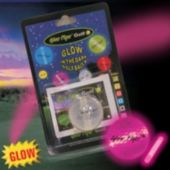 Pink Glow Flyer Golfball W 1 Mini Lightstick (Retail Blister Card)