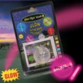 Pink Glow Flyer Golf Ball