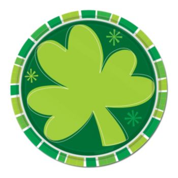 "Irish Shamrocks 7"" Plates"