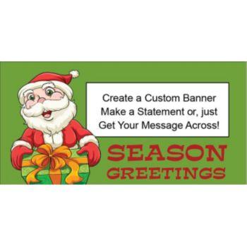 Santa Says Custom Banner