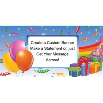 Birthday Presents Custom Banner