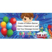 Birthday Boy-Custom Banner