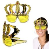 Gold Crown Sunglasses