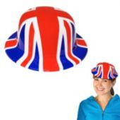 Union Jack Derby Hat-12 Pack