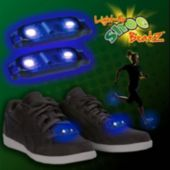 Flashing Blue LED Shoe Beatz