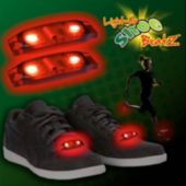 Flashing Red LED Shoe Beatz