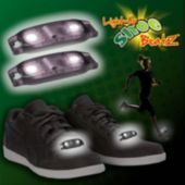Flashing White LED Shoe Beatz