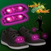 Flashing Pink LED Shoe Beatz