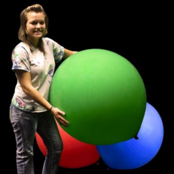 Green Jumbo Balloon - 36 Inch