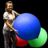 Blue Jumbo Balloon - 36 Inch