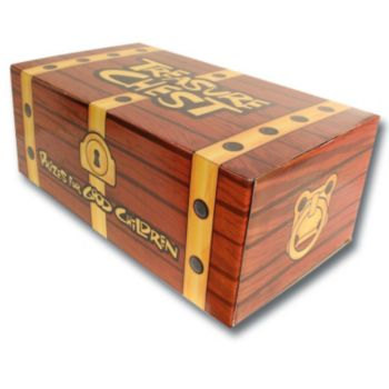 """Treasure Chest Box   16 12"""" x 9"""""""