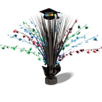 Congrats Grad Foil  Spray Centerpiece