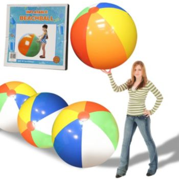 Inflatable Giant Beach Ball - 48 Inch