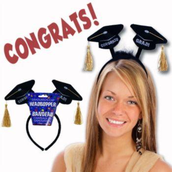 Graduation Cap Headbopper