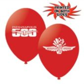 "Indianapolis Speedway Latex 11"" Balloons - 10 Pack"
