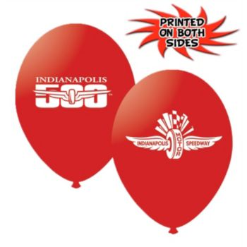 Indianapolis Speedway Latex Balloons - 11 Inch, 10 Pack