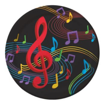 """Musical Memories  8 34"""" Plates"""