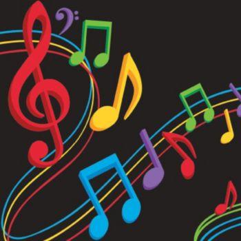 Musical Memories  Beverage Napkins