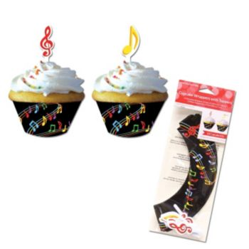 Musical Memories  Cupcake Wrappers