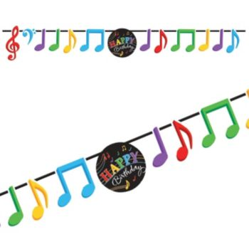 Musical Memories  Birthday Banner