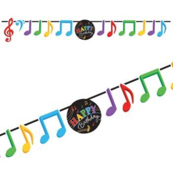 Musical Memories  Birthday Banner
