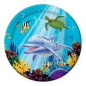 "Under the Sea 8 3/4"" Plates - 8 Pack"