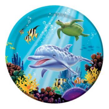 "Under the Sea  8 34"" Plates"