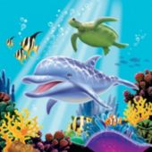 Under the Sea Lunch Napkins - 16 Pack