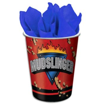 Mudslinger Monster  9 oz Cups