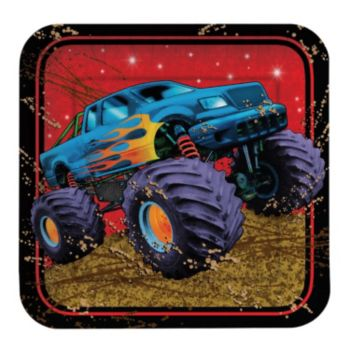 "Mudslinger Monster 7"" Square Plates"