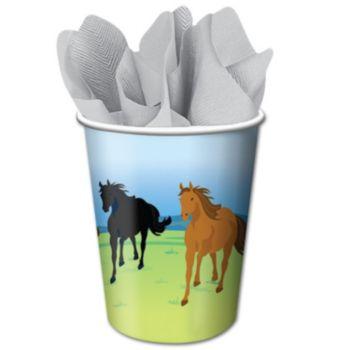 Horses 9 oz Cups