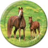 "Horses 8 3/4"" Plates - 8 Pack"