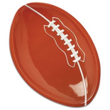 Plastic Oval Football Serving Tray