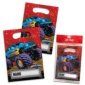 "Mudslinger 9"" Loot Bags - 8 Pack"