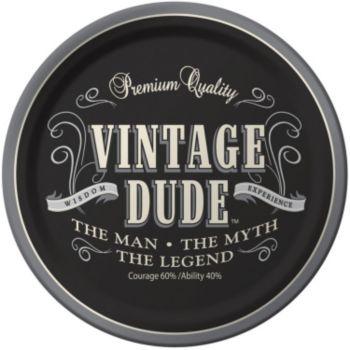 "Vintage Dude  8 34"" Plates"