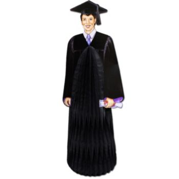 "Graduate Guy  13"" Centerpiece"