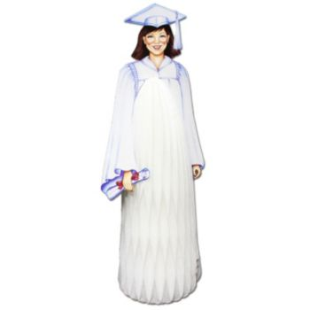 "Graduate Girl  13"" Centerpiece"