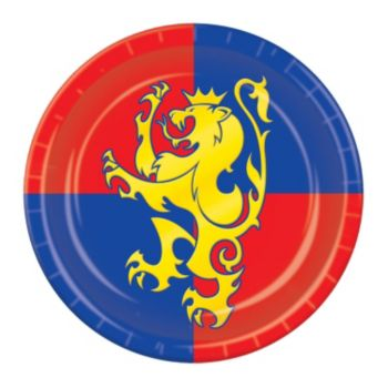 "Medieval Times  7"" Plates"