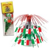 Mexican Flag Centerpiece-7 1/2""