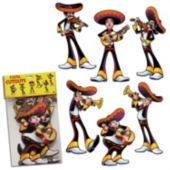 Mariachi Cutouts-6 Per Unit
