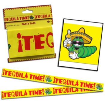 Tequila Party  Time Tape