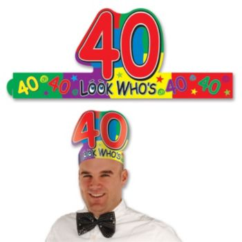 Look Who's 40 Crown