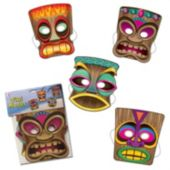 Tiki Masks-4 Pack