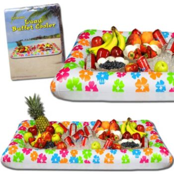 Inflatable Flat Luau Cooler