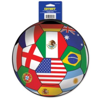 International Soccer  Ball Cutout