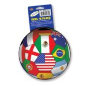 International Soccer Ball Cling