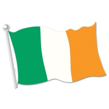 Irish Flag Cutout